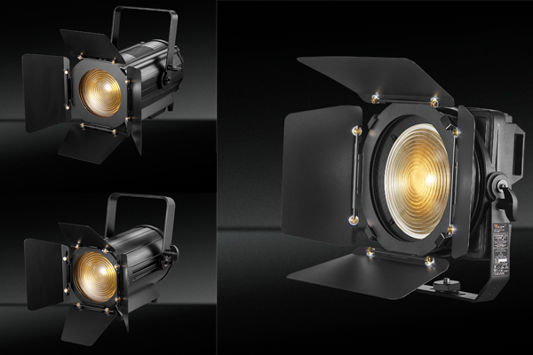 What is studio fresnel spotlight?