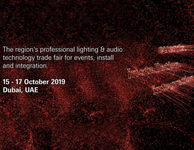 2019 Prolight + Sound Middle East
